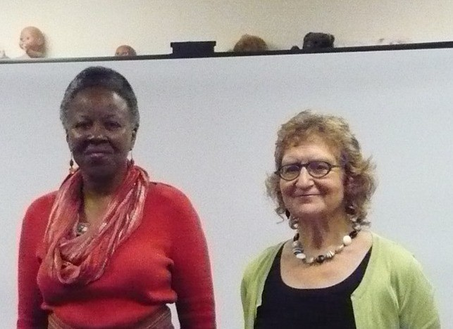 L-R: Co-presenters: Marcia E. Cole, Susan Strasser